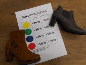 Solden bij Schoenen Pantas!